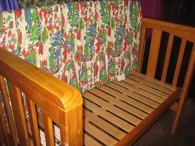 Childs Bed-Solid Wood Construction-With Mattress-Suit 3-7 Years-In Vgc