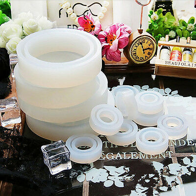 Resin Ring Mold Making Casting Silicone Jewelry Rings Moulds Tools
