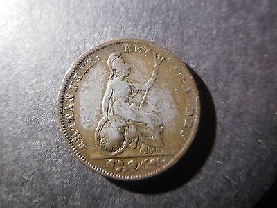 Great Britain Early Coin, Farthing, KM# 697, 1830