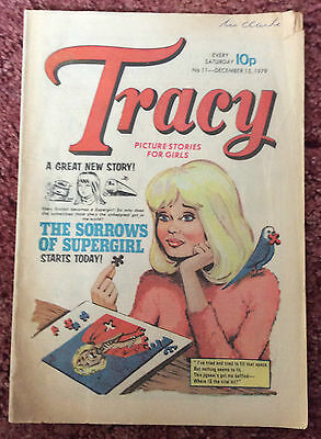 Tracy Comic For Girls. 15 December 1979. No. 11 Fn Condition.