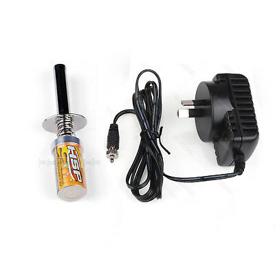 80101A HSP Glow Plug Igniter Starter with  charger for Nitro Car  80101