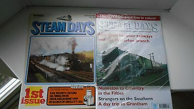 Steam Days Magazines Every Issue Number 1 To Number 334