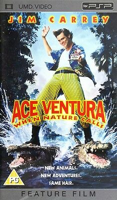 PSP game - UMD Video game - Ace Ventura: When Nature Calls (ENGLISH) (boxed)