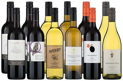 Go West - Wonderful WA Wine Pack(12 x 750mL)