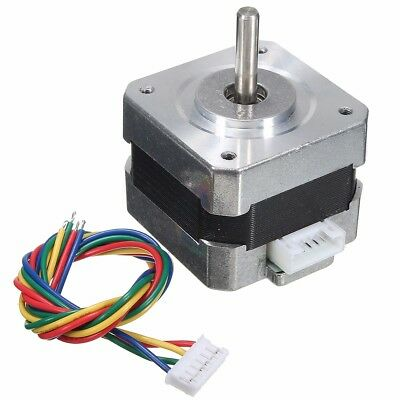 1-5X 28Ncm Nema 17 Stepper Motor 0.4A 18° 4-Wire Cable For 3D printer CNC Reprap