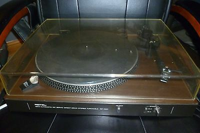 Rotel Rp-1001 Semi Automatic Direct Drive Turntable With Shure M75Ed Type 2 Cart