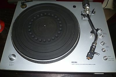 Aurex Toshiba Sr-355 Direct Drive Manual Turntable Audiophile Turntable Sr-355!!