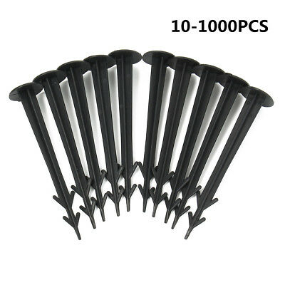 10-100Pcs Weed Control Fabric Securing Pegs Ground Cover Fixing Anchor Membrane