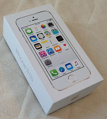 iPHONE 5S WHITE BOX  ~ Box and Inserts Only