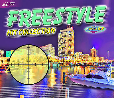 CD Freestyle Hit Collection von Various Artists 3CDs