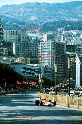 Graham Hill Gold Leaf Team Lotus 49B Winner Monaco Grand Prix 1968 Photograph 16