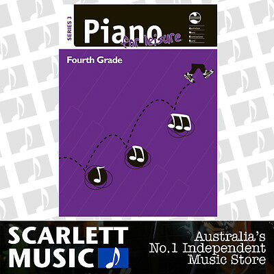 AMEB Piano for Leisure Series 3 - Grade 4 (Grade Four) *BRAND NEW*