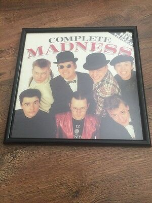 COMPLETE MADNESS framed Album Cover