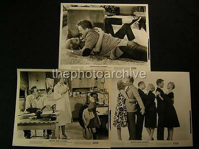 60s Janet Leigh Van Johnson Wives And Lovers VINTAGE 6 Movie PHOTO LOT 170A