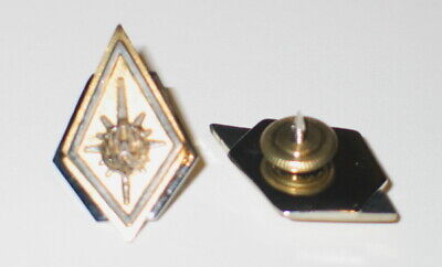 New Battlestar Galactica Commander Collar Pips Pins Deluxe Set (2) MINT UNUSED