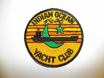 b5939 US Navy Indian Ocean Yacht Club patch IR18A