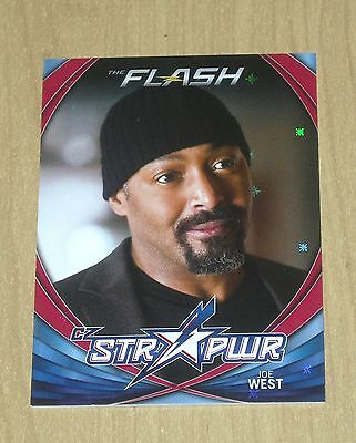2017 Cryptozoic FLASH season 2 character bio STR PWR RED Joe West CB06