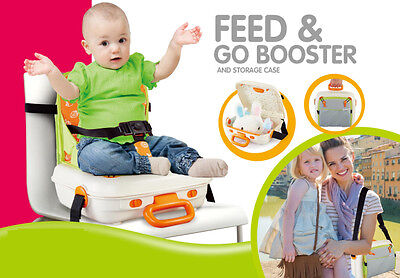 Portable Travel Baby Kids Toddler Feeding High Chair Booster Seat