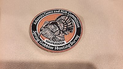 Arkansas Game and Fish  Commission  Spring Gobbler Turkey Hunting Survey Patch