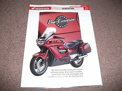 HONDA ST1100A PAN EUROPEAN the data/fact file from essential superbikes