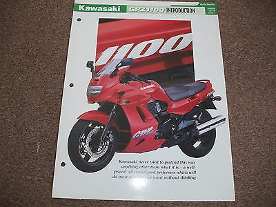KAWASAKI GPZ1100 the complete data/fact file  essential superbikes