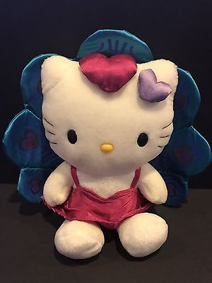 Sanrio Hello Kitty Stuffed Plush Peacock - RARE