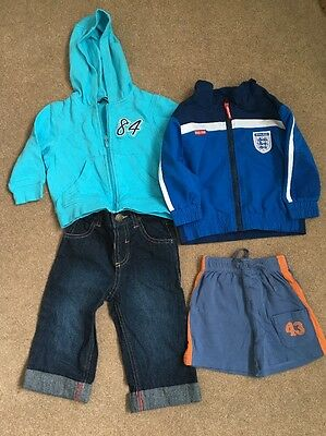 Boys Small Clothing Bundle Age 9-12 Months