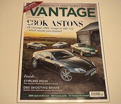 Aston Martin . Vantage Magazine . Issue 9 . Spring 2015