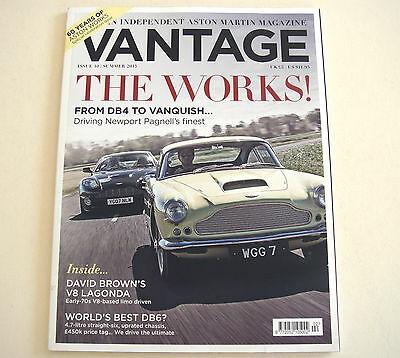 Aston Martin . Vantage Magazine . Issue 10 . Summer 2015