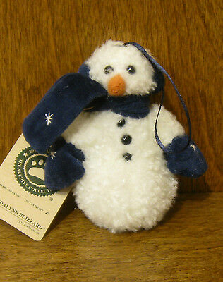 Boyds Ornaments #56193-06 Brendalynn Blizzard, NEW from Retail Store SNOWMAN