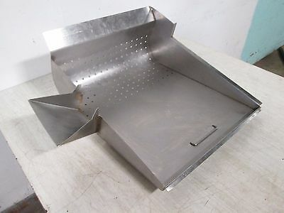 "H.D. COMMERCIAL STAINLESS STEEL FRY DUMP STATION 17"" x 20"" PERFORATED PAN LINER"