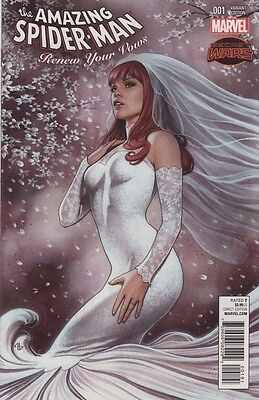 Amazing Spider-Man Renew Your Vows #1!  Mary Jane Granov variant!!