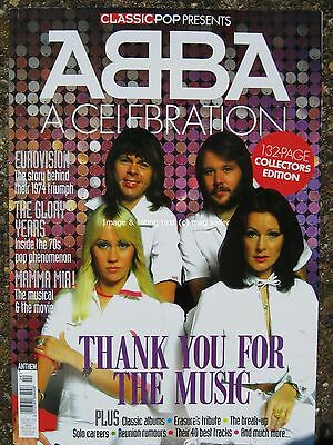 Abba A Celebration Thank You For The Music by Classic Pop magazine 132 pages