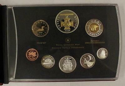 2006 Canada 8-Coin Victoria Cross Silver Proof Set w/Gold Plated Silver Dollar