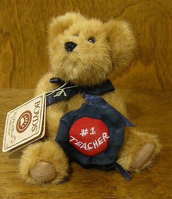 Boyds Plush Ornaments #562506 MS TEACHBEARY, NEW/tag From Retail Store 5.5""