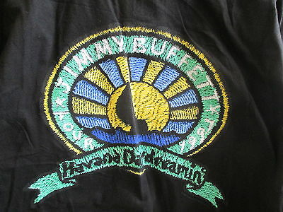 1997 Jimmy Buffett Havana Daydreaming Tour Local Crew Mens Xl Black T-Shirt