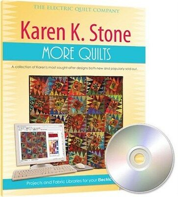 Electrc Quilt EQ7 Karen K. Stone MORE Quilts Quilt Design Add-On Software