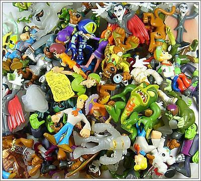 Random 10pcs SCOOBY DOO AUCTION Lot FIGURE Loose BOY GIRL CHILD TOY