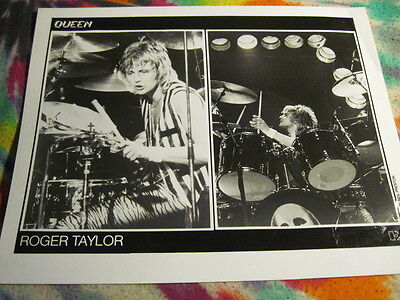 Queen - Roger Taylor - Promo 8 X 10  Photo --------  K @@ L