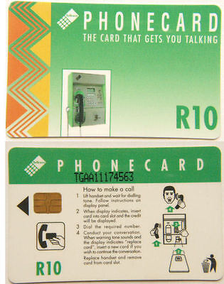 South Africa Phone Card - Card That Gets You Talking