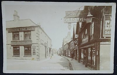 Old Real Photo Postcard - North Street, Wetherby, Yorkshire