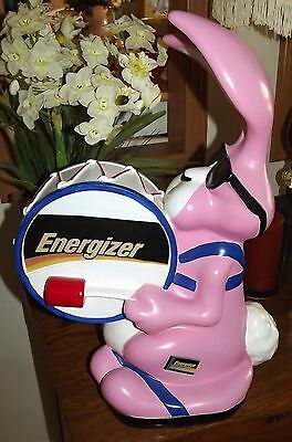 Energizer Bunny/Energizer Batteries store display-LARGE
