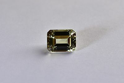 3.07 Ct. Zultanite Natural Loose Gem - 9x7mm Emerald Cut Cert of Auth D006