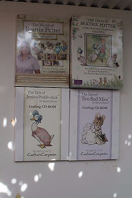 Crafters Companion - The Tales of Beatrix Potter Volume 2 - 3 Disc Set - Sealed