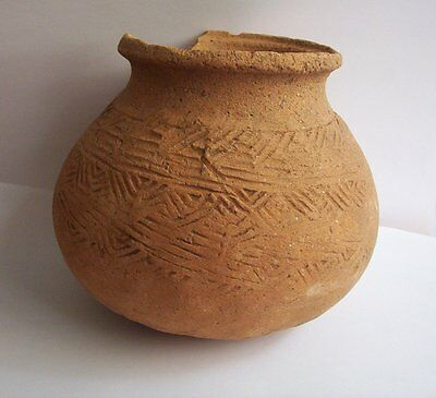 Ayutthaya Culture Pottery vessel  Siam.