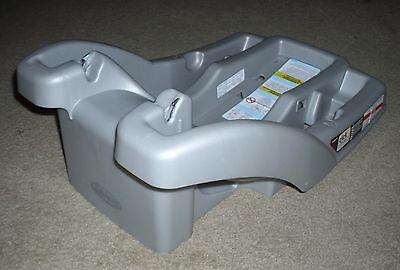 Graco SNUGRIDE 30 32 35 CLICK CONNECT Extra Infant CAR SEAT BASE Silver