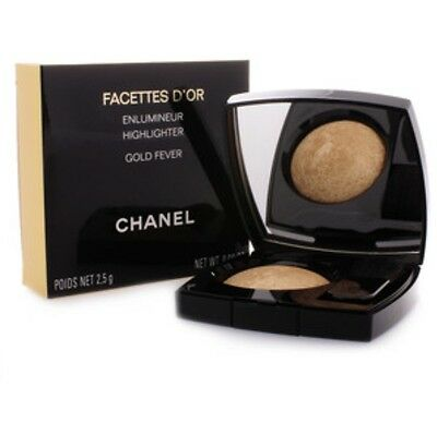 Chanel Facettes D'or Enlumineur Poudre Or /gold Fever Highlighter Sold Out
