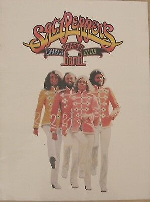Sgt Peppers Lonely Hearts Club Band, 1978 Film Brochure, The Bees Gees