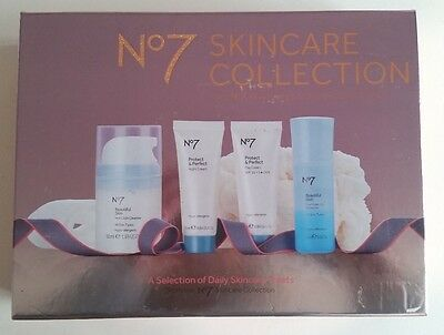 No7 Skincare Collection Protect & Perfect  Gift Set NEW *Free P&P*