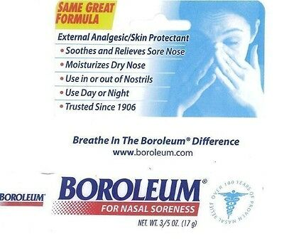 Boroleum Analgesic Ointment 0.60 oz nasal soreness dry nose